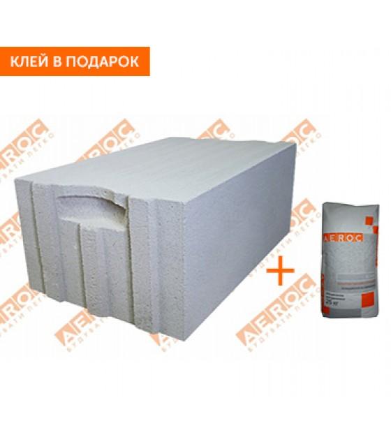 Стеновые блоки Аерок D400 400х250х600