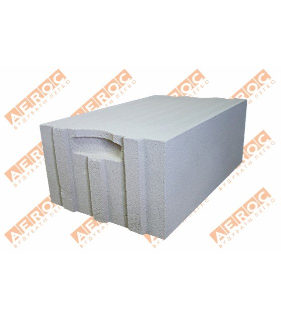 Стеновые блоки Аерок D300 375х200х610