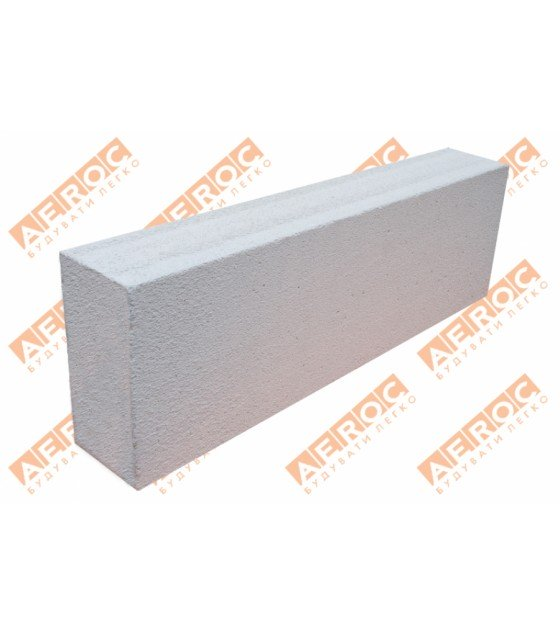 Перегородочные блоки Аерок D400 125х200х610